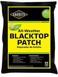 PARCHADOR DE ASFALTO BLACKTOP PATCH