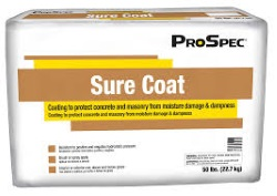 SURE COAT WHITE (FDA. 50 LBS.)